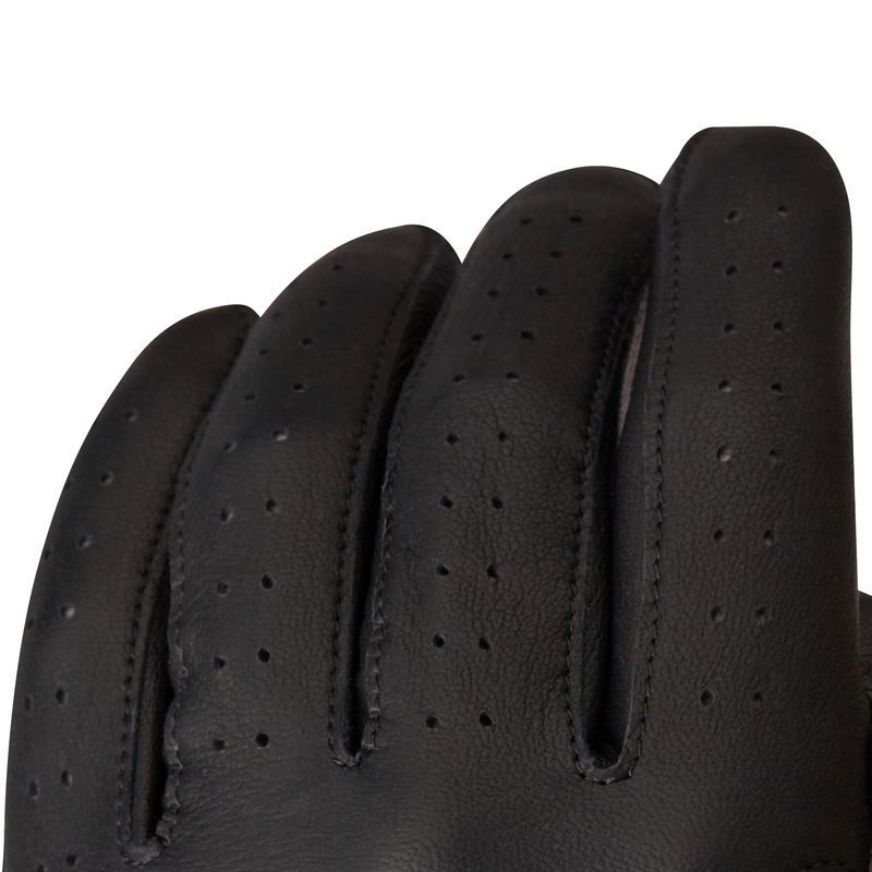 500 Men's Golf Advanced and Expert Glove - Right-Hander Black