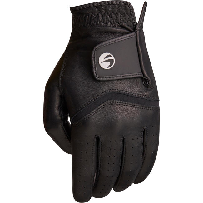 500 Men's Golf Advanced and Expert Glove - Right-Hander Black