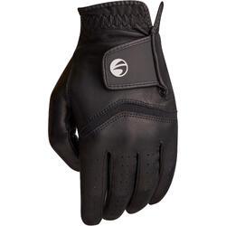 Golfhandschoen 500 voor heren, gevorderde en ervaren spelers, rechtshandig zwart