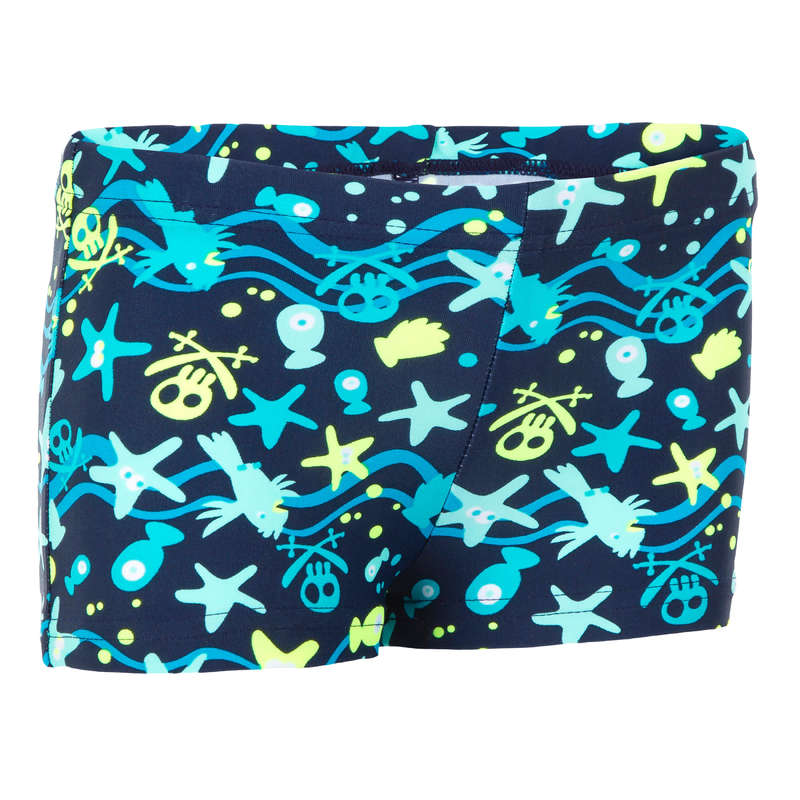 BABY SWIMSUITS & ACCESS. Swimming - Titou Baby Shorts AllHook Blue NABAIJI - Swimwear