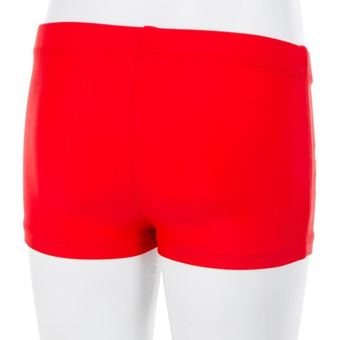 Zwemboxer voor jongens Titou hook rood