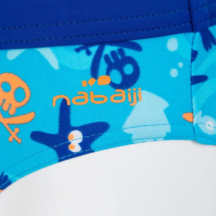 Maillot de bain bébé slip captain all hook bleu