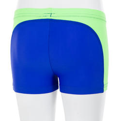Titou Baby Boys' Boxer-Style Swim Shorts - Yoke Blue Green