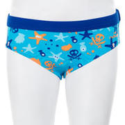 Traje de baño bebé slip captain all hook azul