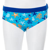 Vestido de baño tipo slip natación bebé captain all hook azul