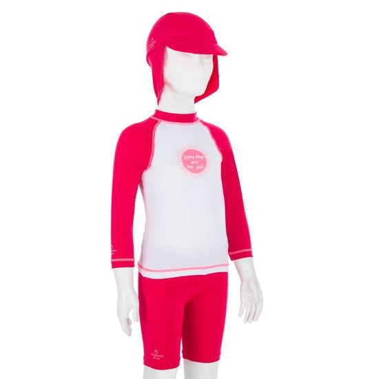 Uv-werende set van pet, kuitbroek en shirt voor peuters Surf - 1122029