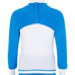 Conjunto gorra corsario camiseta anti-UV surf bebé Azul