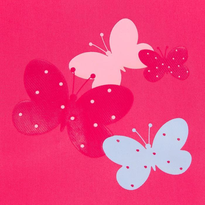 """Maillot de bain bébé fille tankini top rose avec imprimé """"papillons"""" - 1122082"""