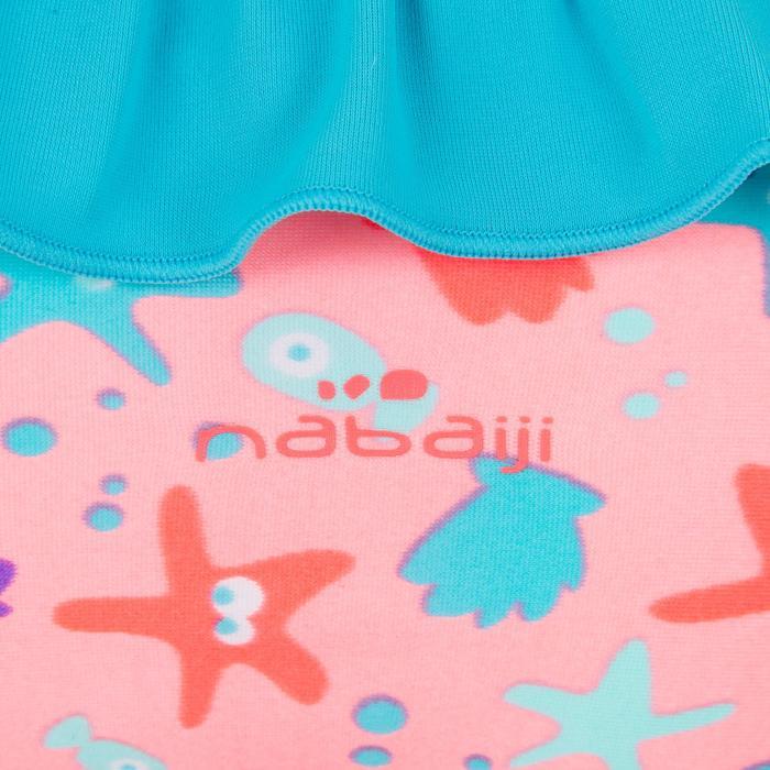Maillot de bain une pièce culotte bébé fille all sia orange