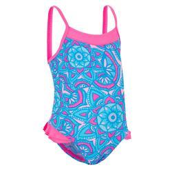 Bañador de natación bebé niña una pieza madina+ rosa all dal