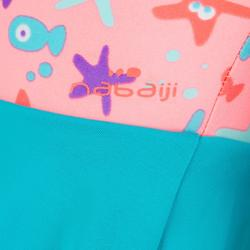 Baby girl's printed swimsuit skirt