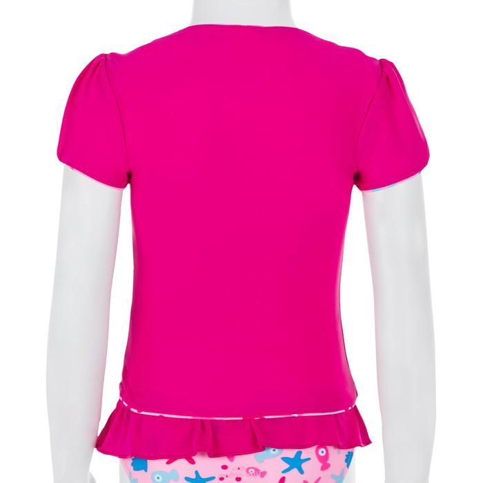 """Maillot de bain bébé fille tankini top rose avec imprimé """"papillons"""" - 1122129"""
