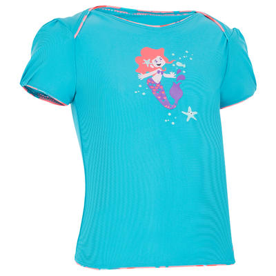 Baby Girls' Tankini Swimsuit Top - Maid Blue