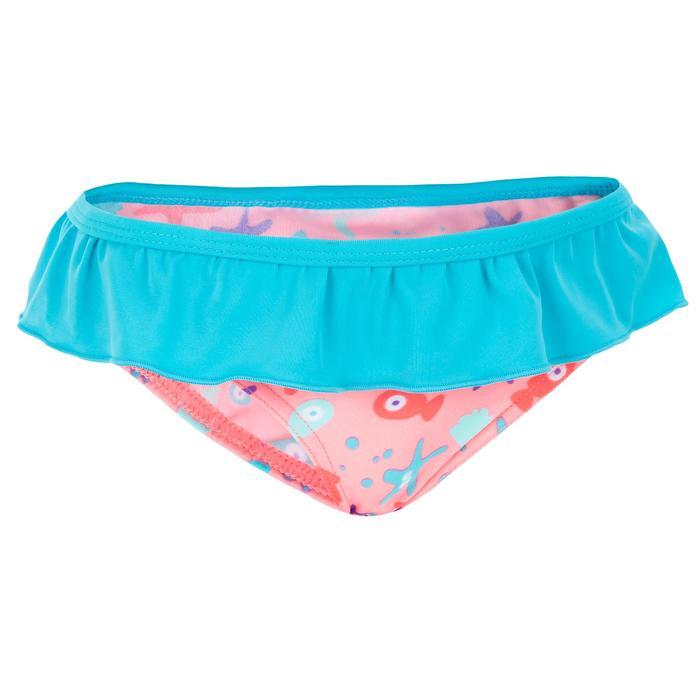 """Maillot de bain une pièce culotte bébé fille rose imprimé """"papillons"""" - 1122145"""