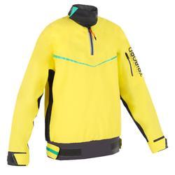 兒童小艇/雙體船防風航海運動外套 S500 - 黃色/綠色/藍色