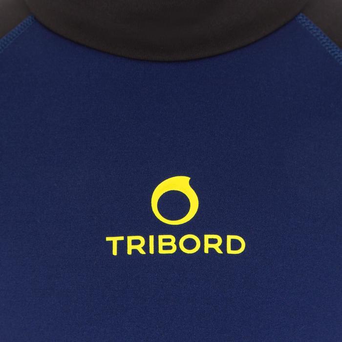 tee shirt anti UV surf top néoprène thermique manches courtes enfant - 1122572