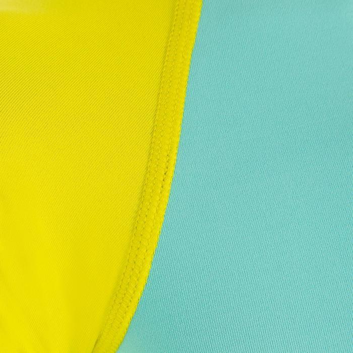 Kids' LS UV Top 100 - Blue Yellow