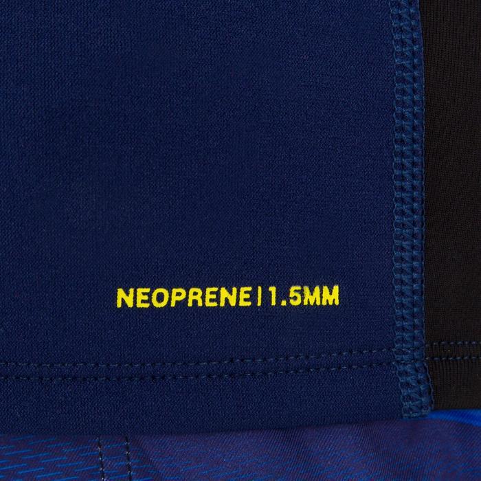 tee shirt anti UV surf top néoprène thermique manches courtes enfant - 1122587