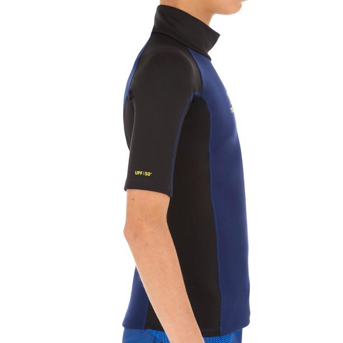 tee shirt anti UV surf top néoprène thermique manches courtes enfant - 1122593