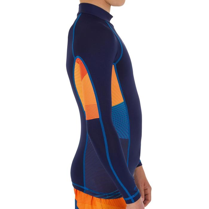 tee shirt anti UV surf top 500 manches longues enfant - 1122600