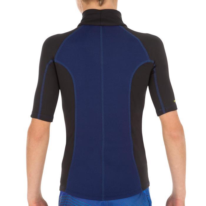 tee shirt anti UV surf top néoprène thermique manches courtes enfant - 1122602