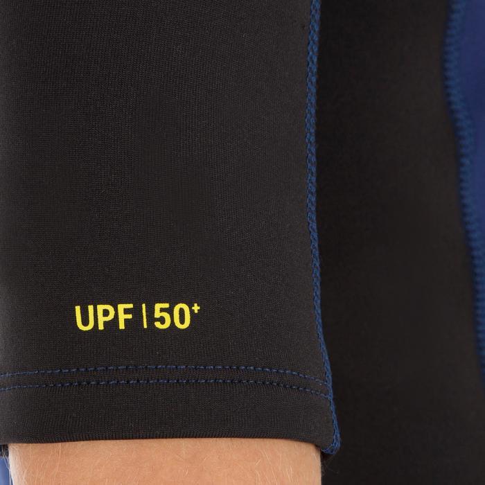 tee shirt anti UV surf top néoprène thermique manches courtes enfant - 1122629