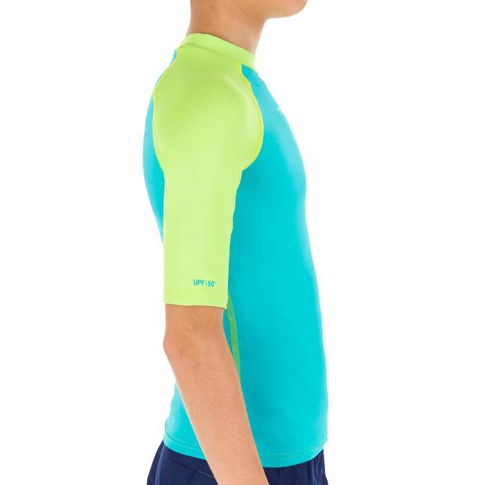 Tee shirt anti UV surf Top 100 manches courtes Enfant - 1122641