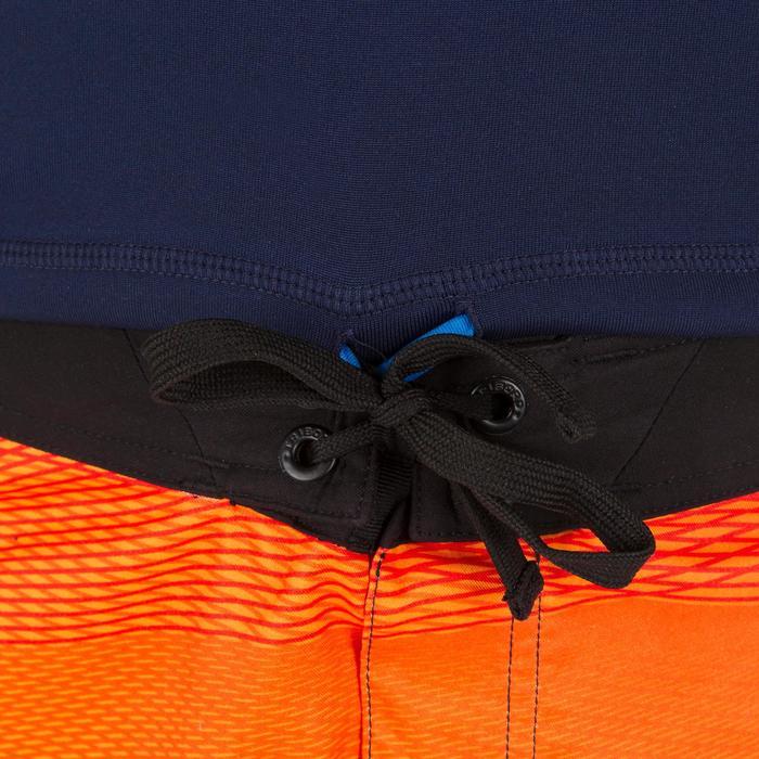 tee shirt anti UV surf top thermique polaire manches courtes enfant - 1122647