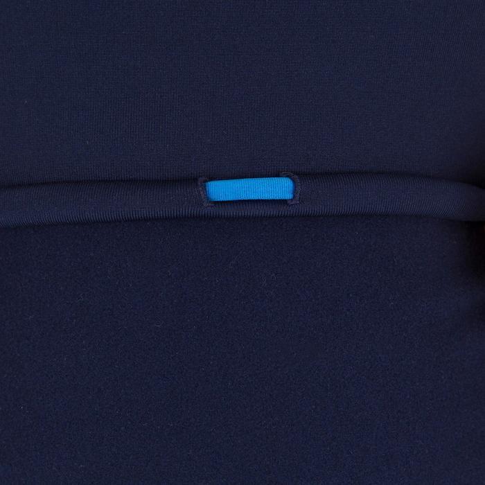 Camiseta anti-UV surf top térmico polar manga corta niños Azul