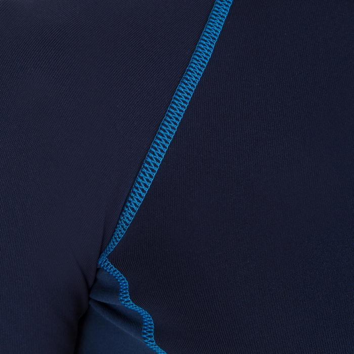 tee shirt anti UV surf top thermique polaire manches courtes enfant - 1122677