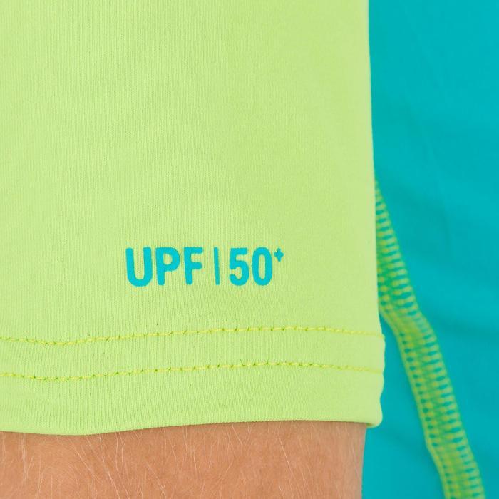 tee shirt anti uv surf top 100 manches courtes enfant - 1122686