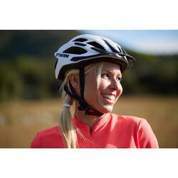 500 登山自行車安全帽 - 白