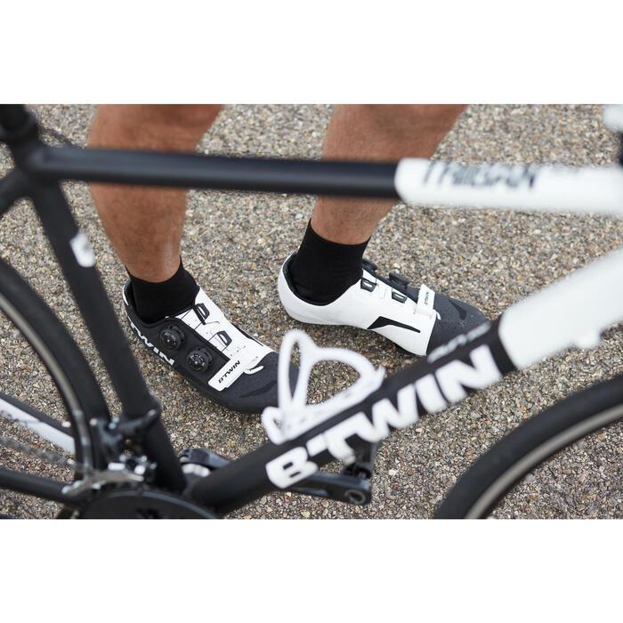 Fietsschoenen 900 Aerofit zwart/wit