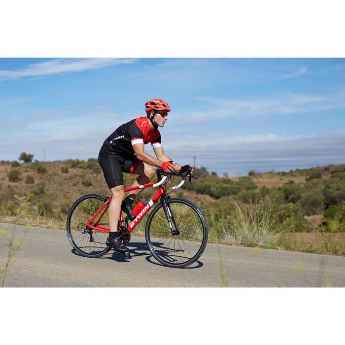 Racefiets Triban 500 wielertoerisme rood