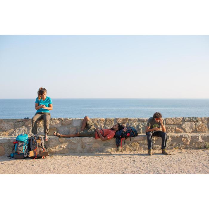 Trekkinghose Travel 100 Damen khaki
