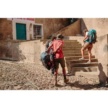 Damessandalen, trekking, Arpenaz 120, lichtblauw