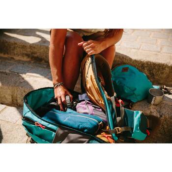 Sac à dos Trekking TRAVEL 500 Femme 50 litres cadenassable bleu - 1123117