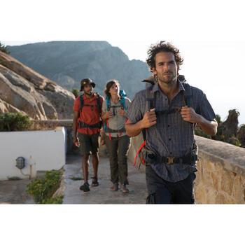 Sac à dos Trekking Travel 500 Femme 70 litres cadenassable gris - 1123119