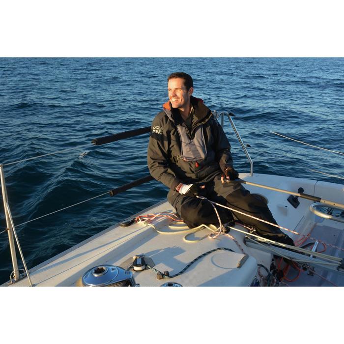 Salopette de régate bateau RACE homme gris - 1123131