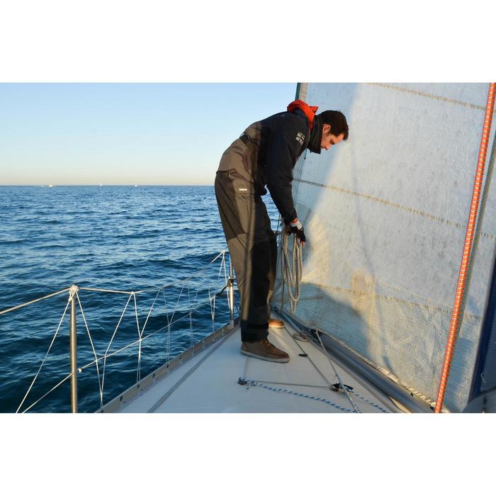 Salopette de régate bateau homme Race gris