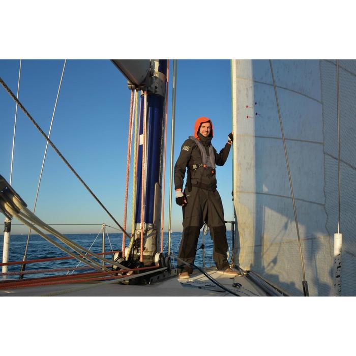 Salopette de régate bateau RACE homme gris - 1123140