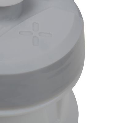 زمزمية مياه للاستخدام أثناء ركوب الدراجة 600 مل – لون أبيض