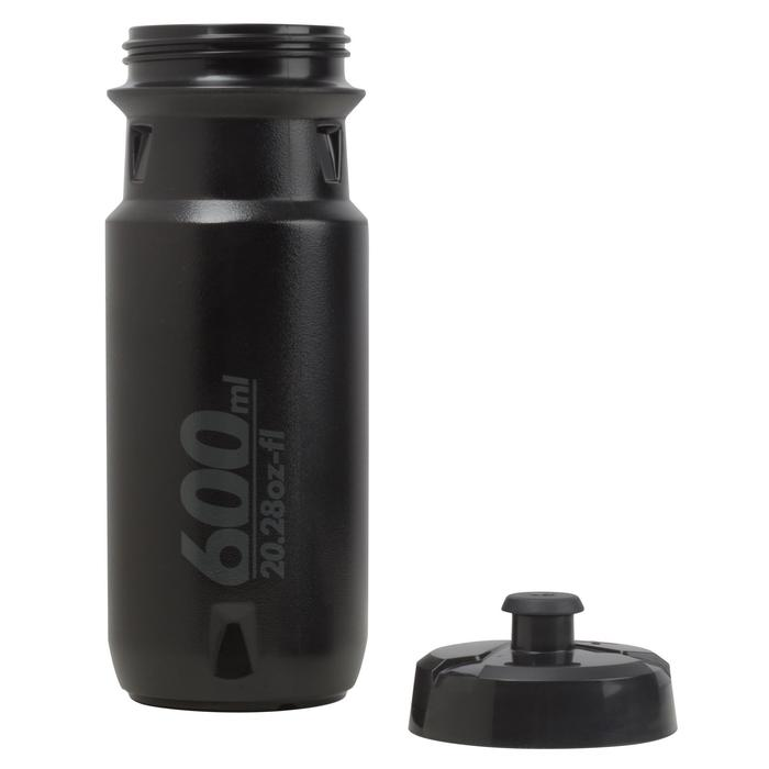 Bidon 600 ml zwart