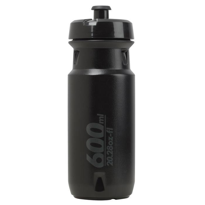 Fahrrad Trinkflasche ROAD 600 ml schwarz