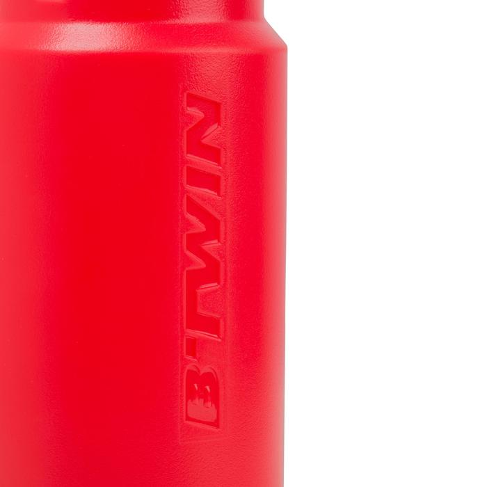 Bidón ciclismo 600 ml rojo