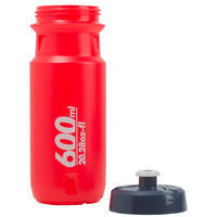 Gourde vélo 600 ml rouge