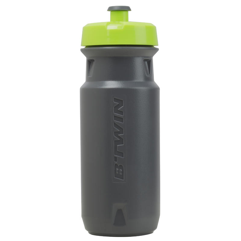 Botella ciclismo 600 ml gris