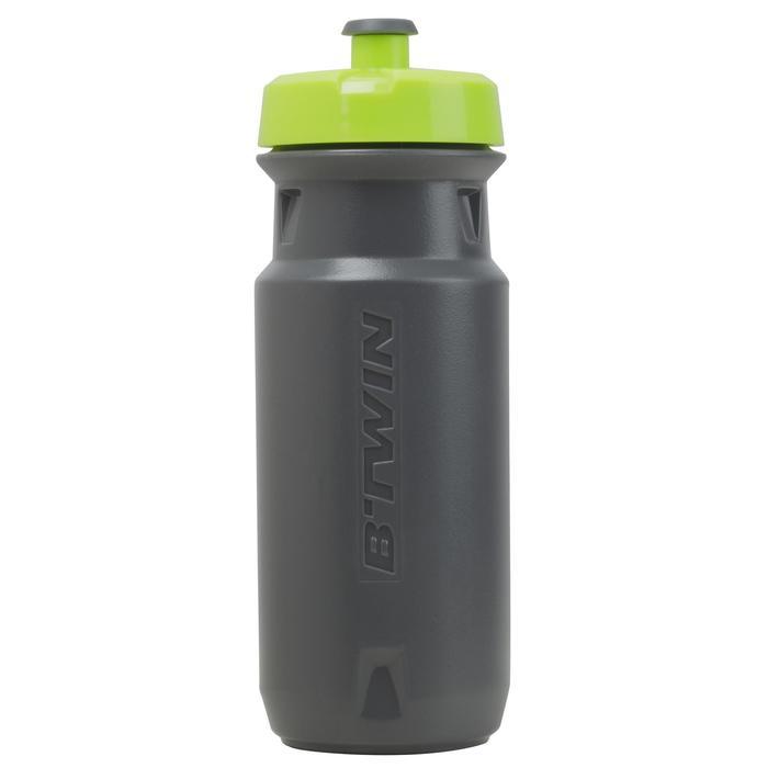 Bidón ciclismo 600 ml gris 100% BPA Free