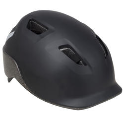 100 City Cycling Helmet - Black