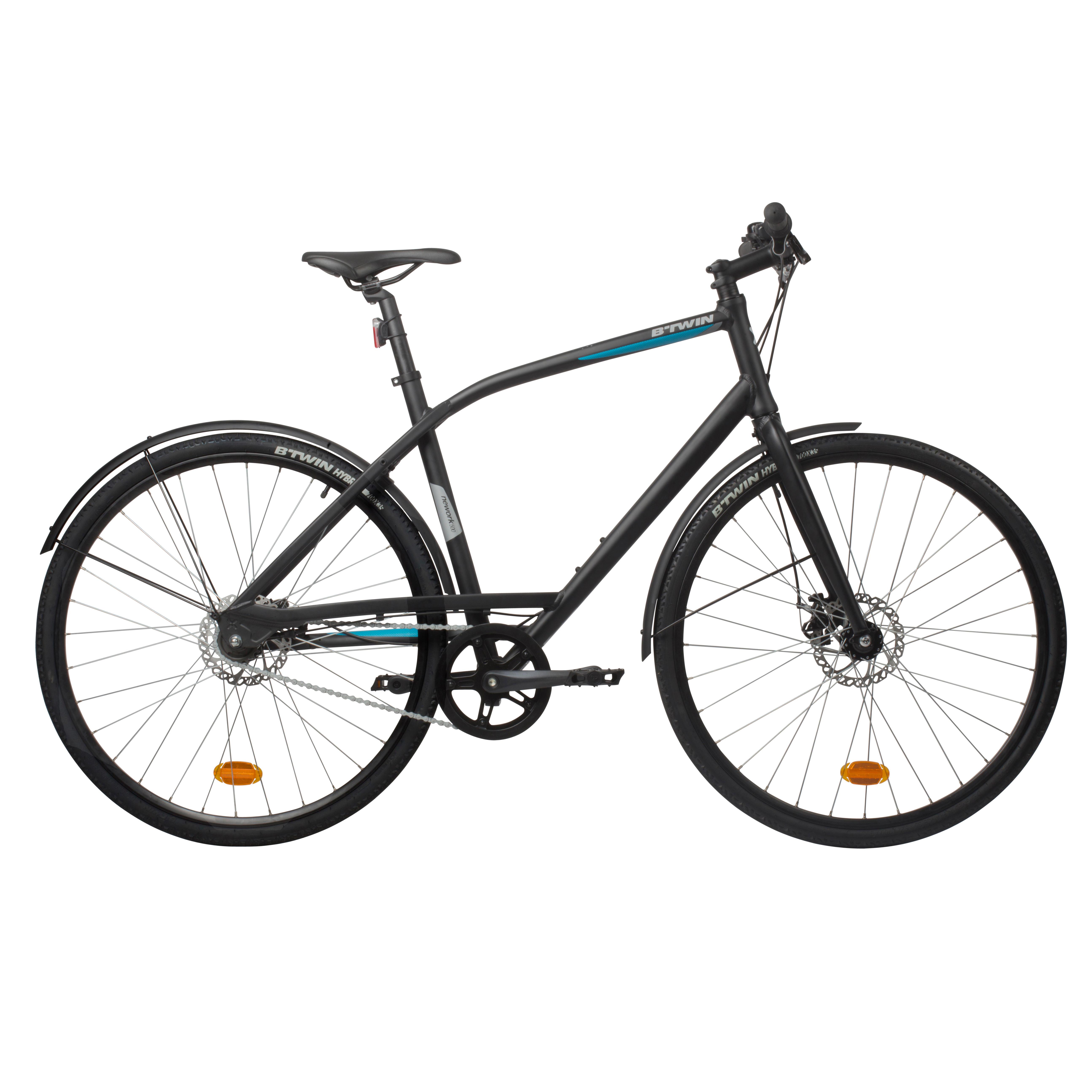 B'twin Stadsfiets Nework 500 Limited Edition - S/M